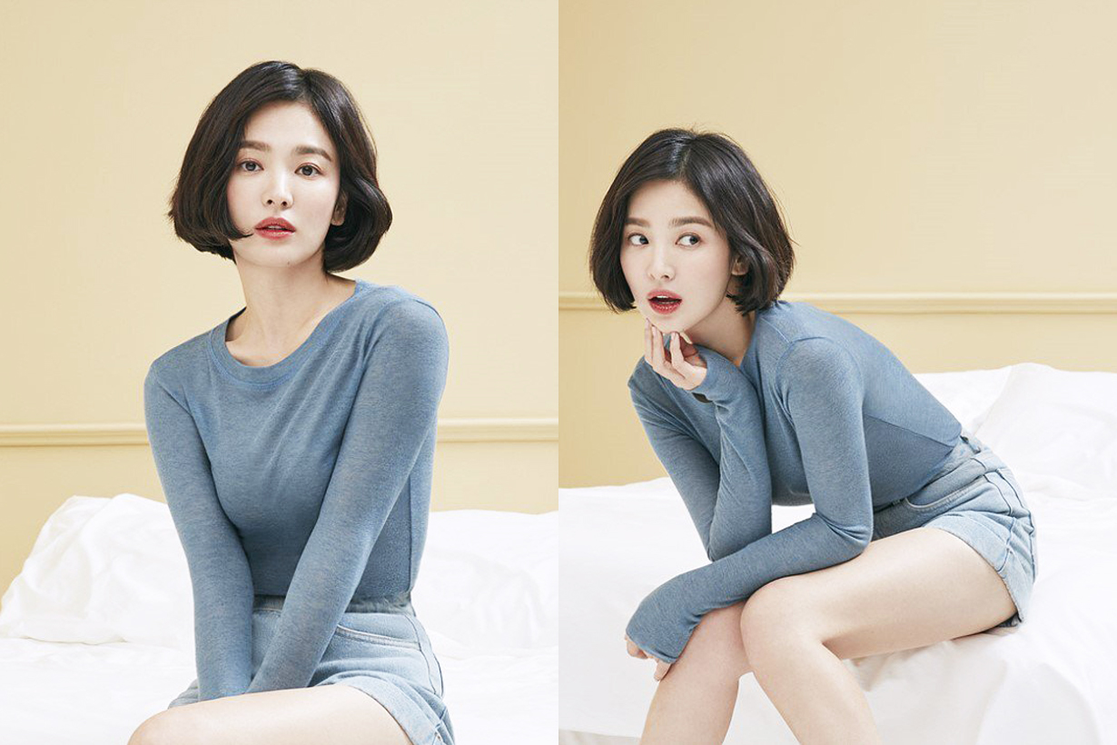Song Hye Kyo Suecomma Bonnie Pictorial Advertisement campaign Shine On Me korean shoes brand korean celebrities actress idols