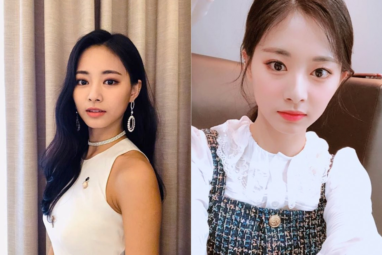 Twice Chou Tzu Yu Tzuyu Running Man Korean variety show High Ponytail hairstyles K Pop Korean idols celebrities singers