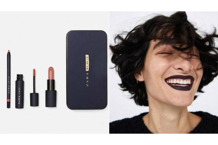 ZARA 將推出彩妝唇膏!正好趕上聖誕節慶!
