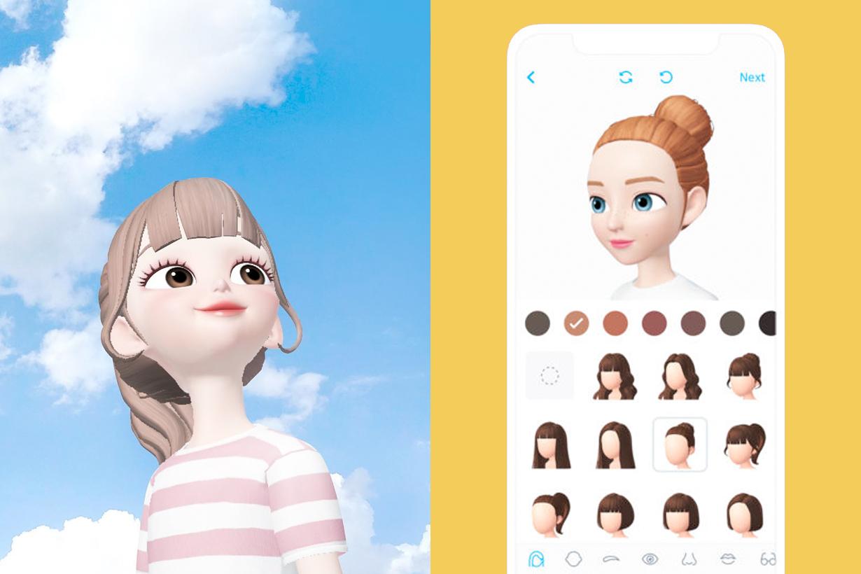Zepeto app apple character online new memoji