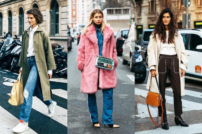 時尚不一定要捱冷:30 個好看又不累贅的大衣街拍造型!