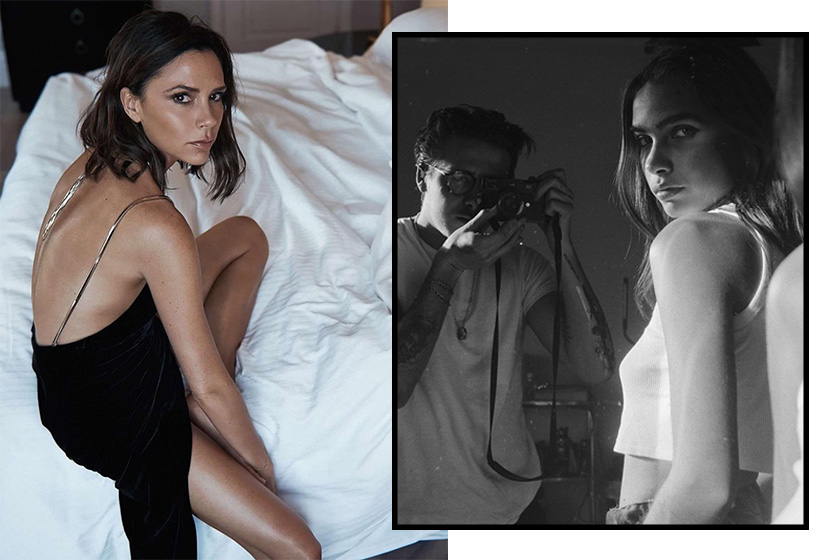 Brooklyn Beckham new Girlfriend Victoria Beckham