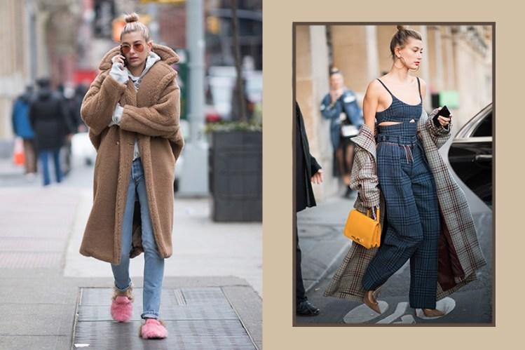 冬天有這幾件就夠:一覽 Hailey Bieber 15+ 最佳外套穿搭範本!
