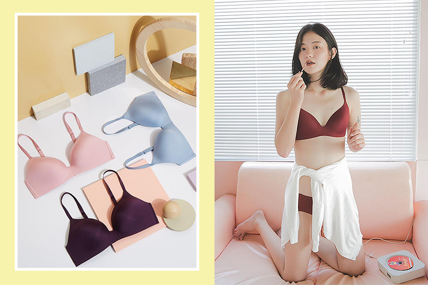 Girl Lingerie Care Bra Size Tips Uniqlo Beauty Light Wireless Bras