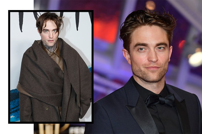 Robert Pattinson 以崩壞造型現身 Dior 時裝秀引來外媒批評!