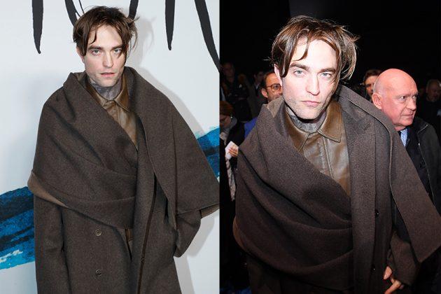 Robert Pattinson Style Dior Fashion Show 2019