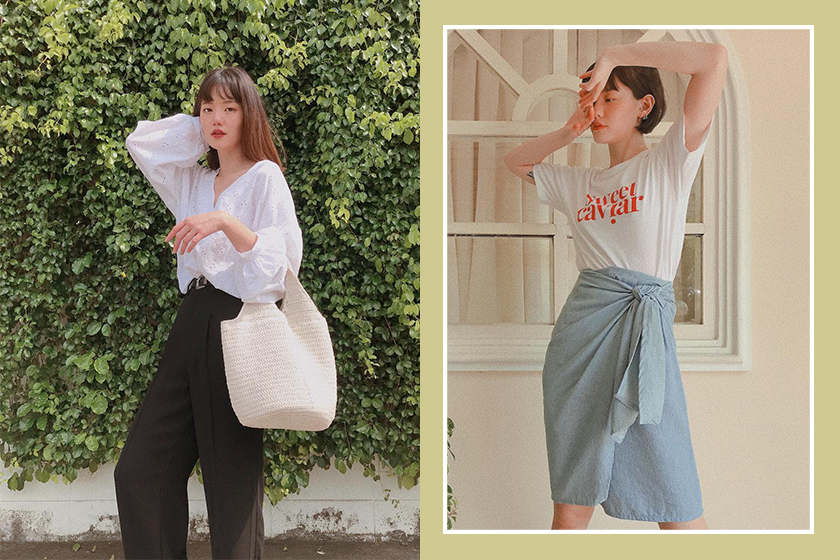 Thai girl Instagram NAPASSANAN Outfit Ideas Inspiration