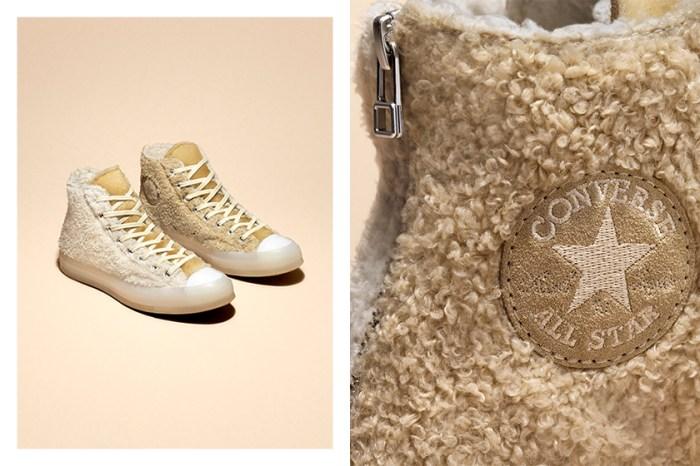 現在最想入手的波鞋:這雙毛茸茸 Converse 讓所有女生都瘋狂了!
