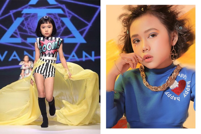 連超模 Coco Rocha 都讚賞的台步:這位 8 歲的越南小模特值得矚目!