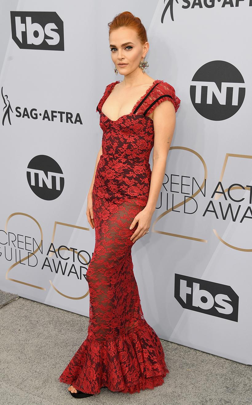 lady gaga Margot Robbie Amy Adams 2019 Screen Actors Guild Awards Red Carpet