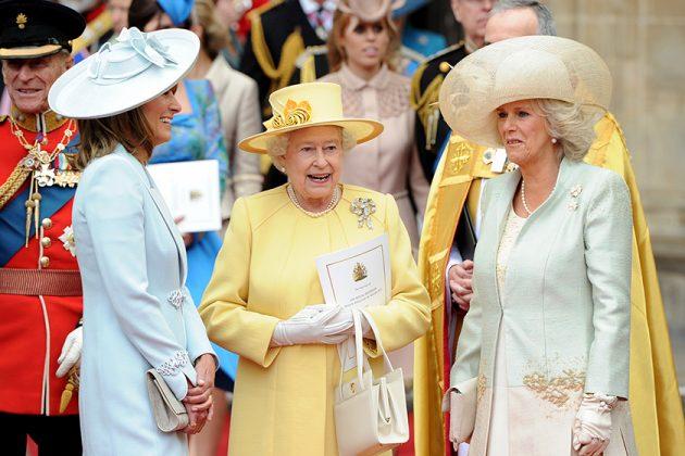 British Queen selection Prince Charles Camilla Royal Family