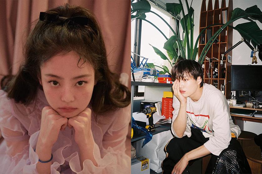 Blackpink Jennie Kai EXO Korean Singer fall in love