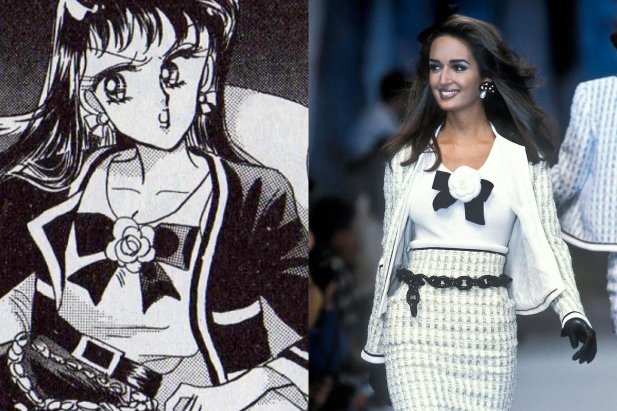 sailor moon chanel mugler wear haute couture