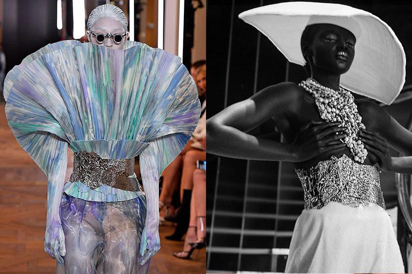 Balmain spring 2019 couture controversial issue
