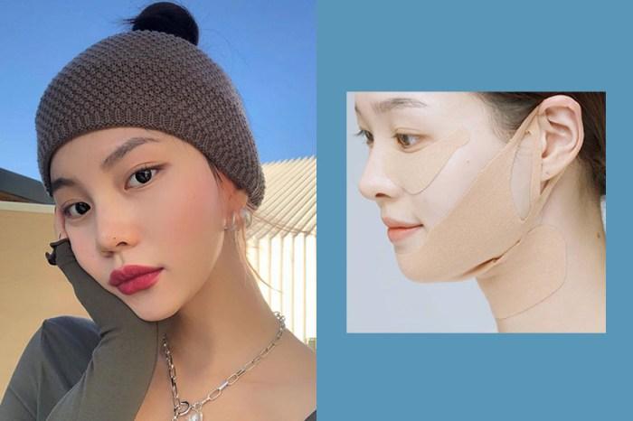 臉大有救了!韓國女生激推這款「繃帶面膜」,嘴邊肉雙下巴一次解決!