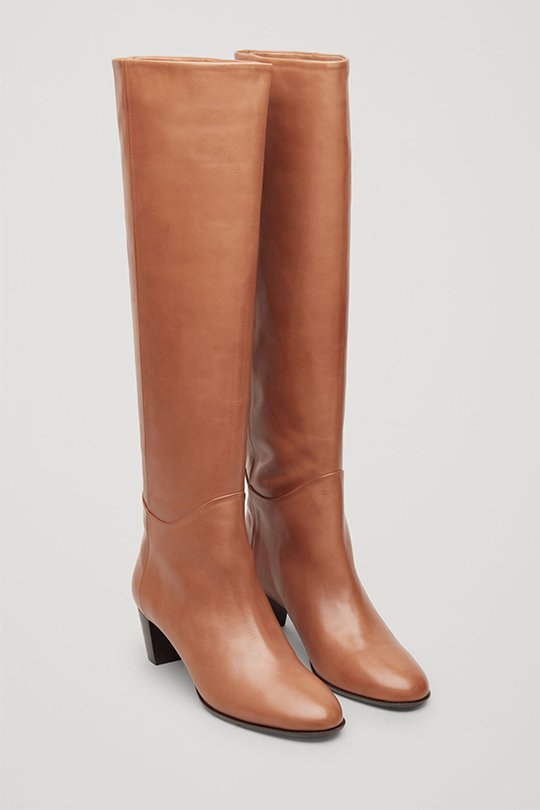 COS ankle boots knee boots
