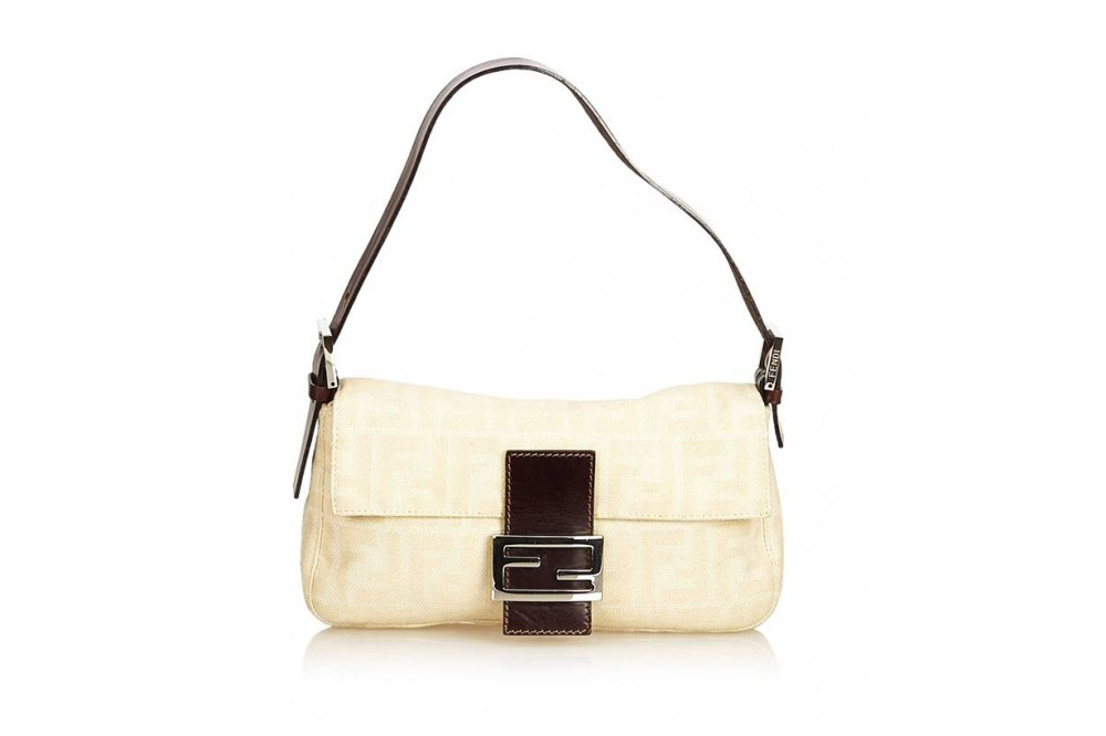 Fendi Baguette Cloth Handbag