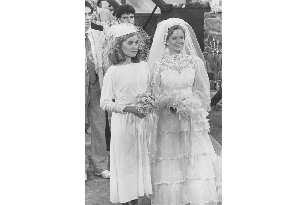 The Brady Girls Get Married, 1981 Maureen McCormick and Eve Plumb