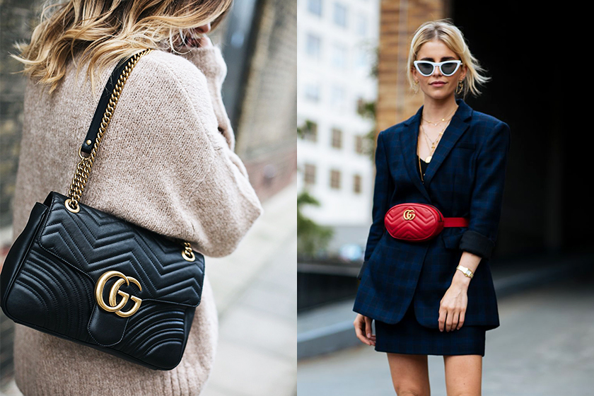 Gucci GG Mar­mont trend