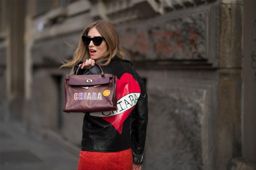 Hermes Bag Blogger Ferrari Chiara