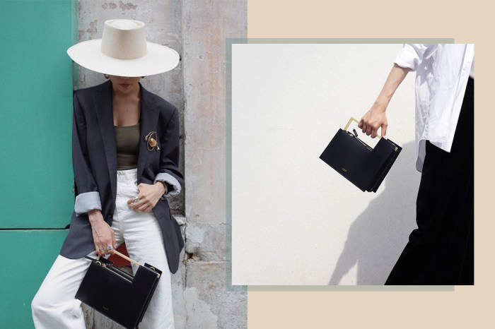 只愛線條俐落的極簡手袋?這個低調的小眾品牌能滿足你!