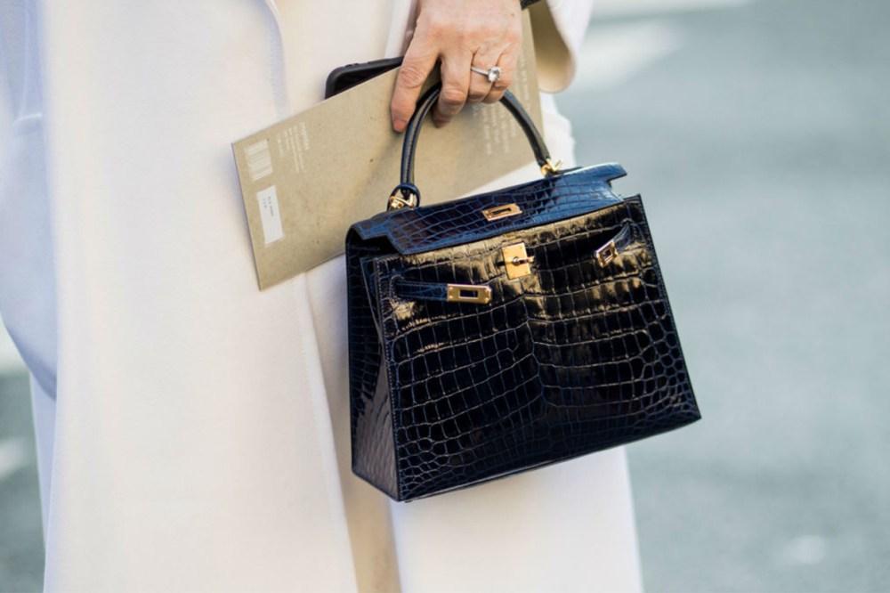 Hermes Exotic Skin Handbag Street Style