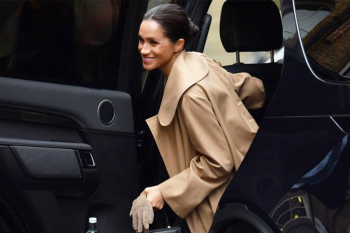 梅根王妃竟以透明高跟鞋亮相,但更想買她手上的復古感皮包!