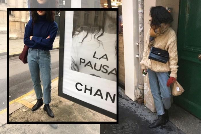 穿出巴黎日常氣息?跟著這韓國女生,練習零距離感的慵懶穿搭!