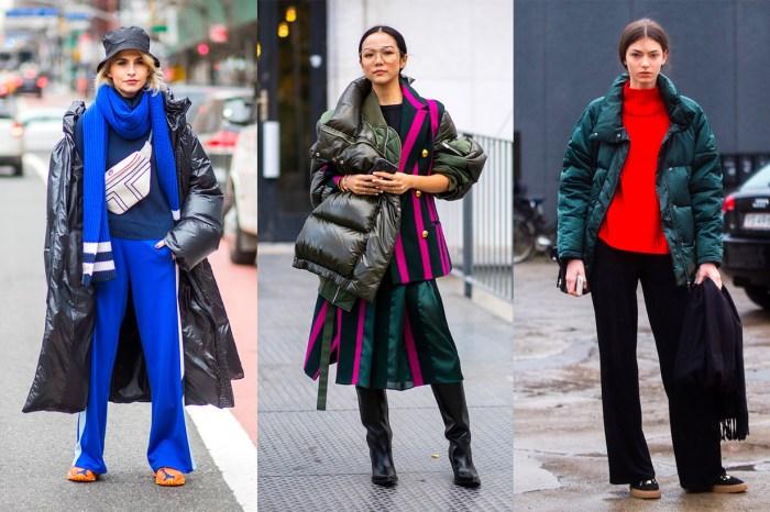 當保暖羽絨成為時尚:讓你愛上最「醜」外套的街拍 25+