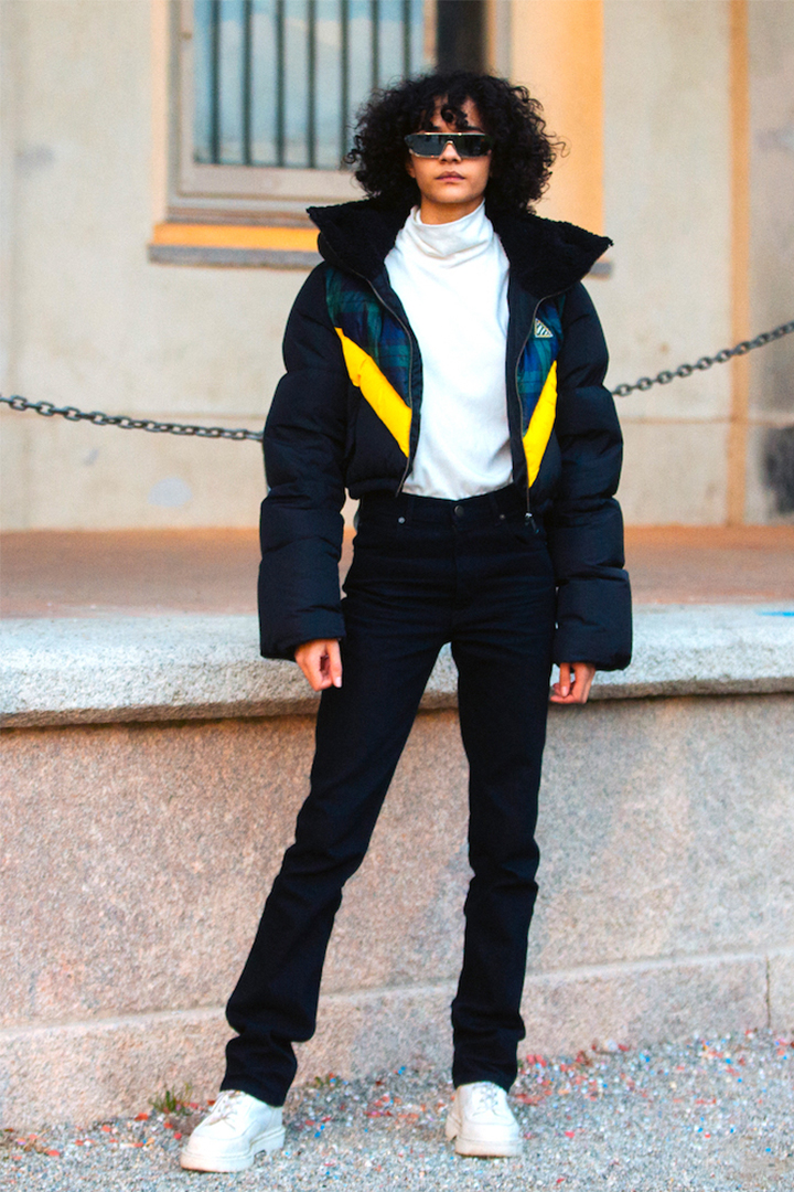 How To Style Puffy Coat