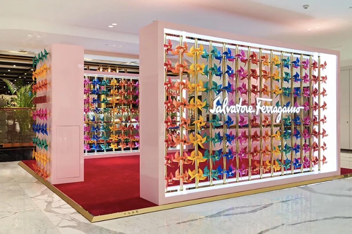 Salvatore Ferragamo beijing SKP Pop up Store