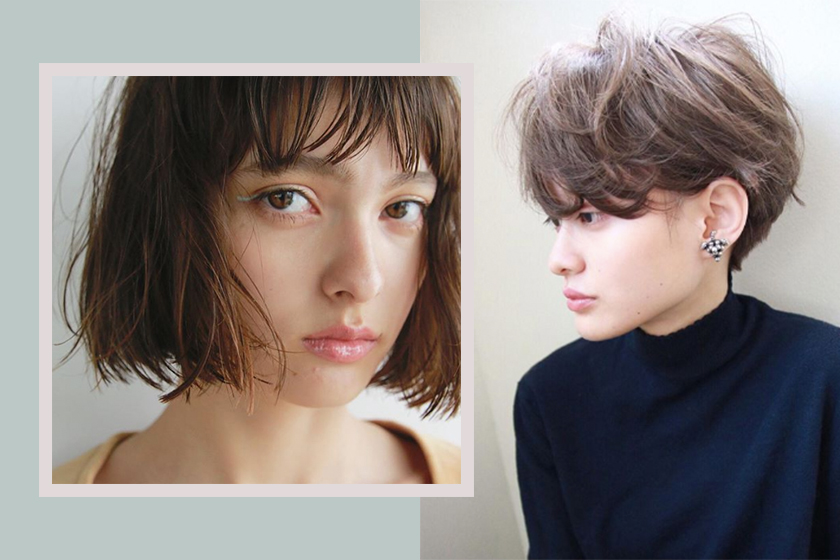 hair color trend japan