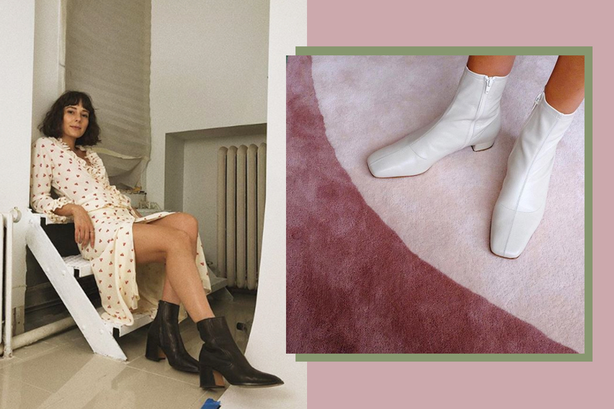 The Square-Toe Boots Trend Is Back