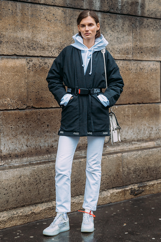 winter outfit idea street style