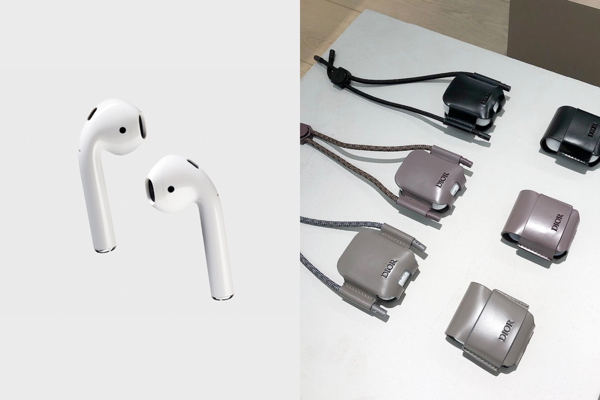 dior airpods case new kim jones 2019 leather
