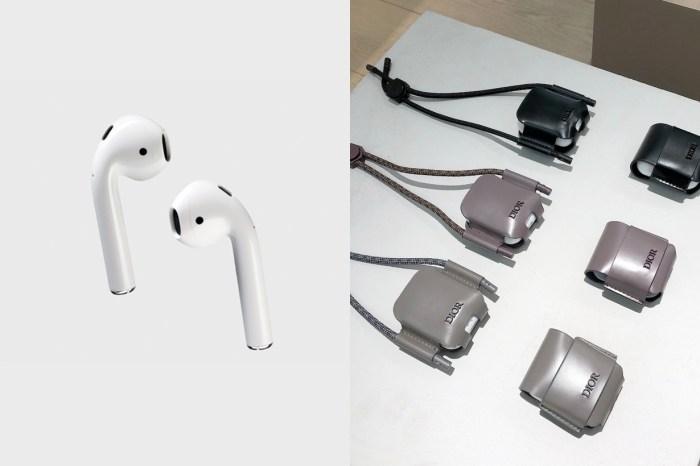手機殼後將掀起另一波 3C 配件潮?Dior 的 Airpods 皮套真的太美!