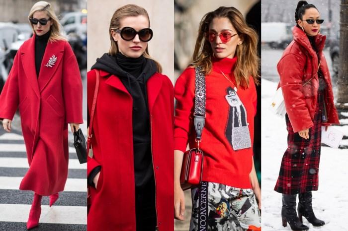 農曆新年紅色穿搭!不想被當成「紅包」就快來學