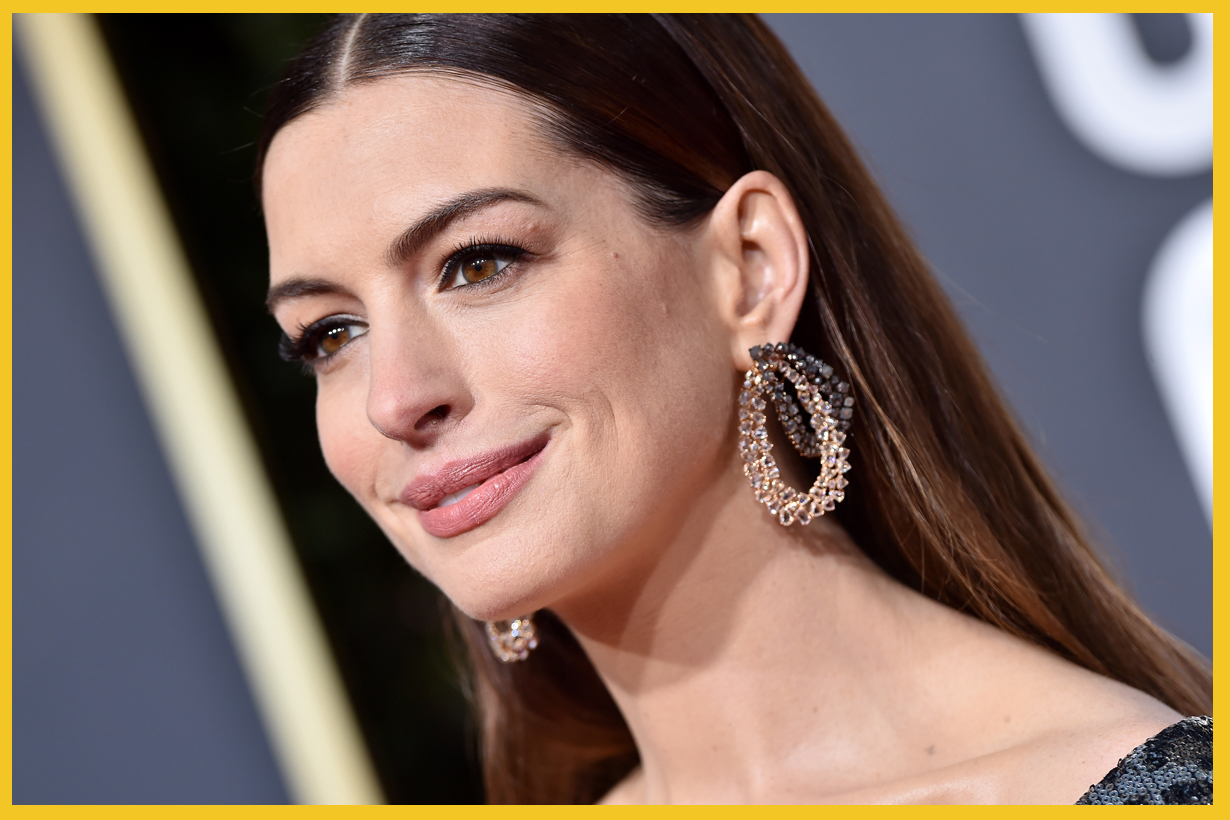 Anne Hathaway dealing with stress Town & Country 12 minutes with pen and paper burn it Hollywood oscar winning actress matthew mcconaughey serenity