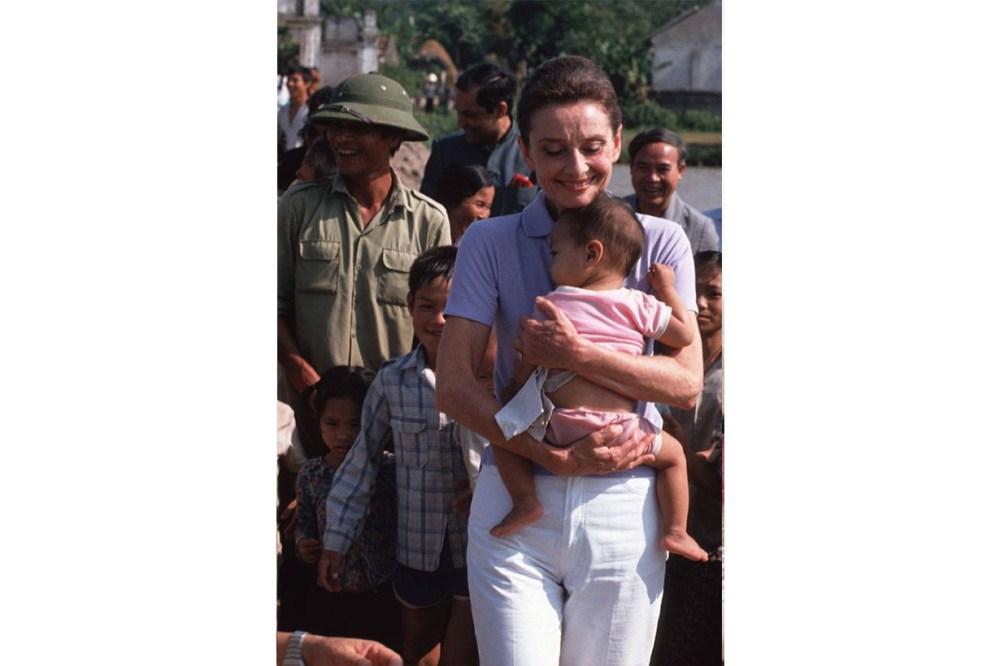 Audrey Hepburn Unicef Children