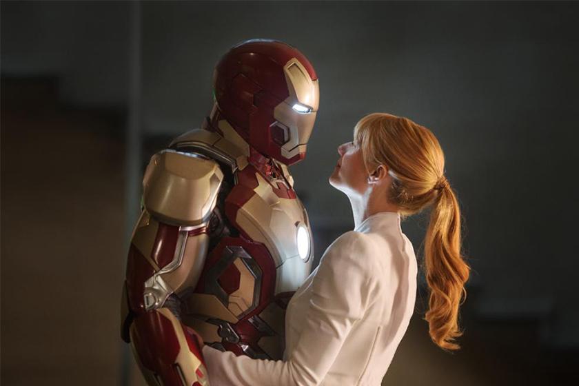 avengers endgame iron man tony stark and pepper potts daugther Katherine Langford