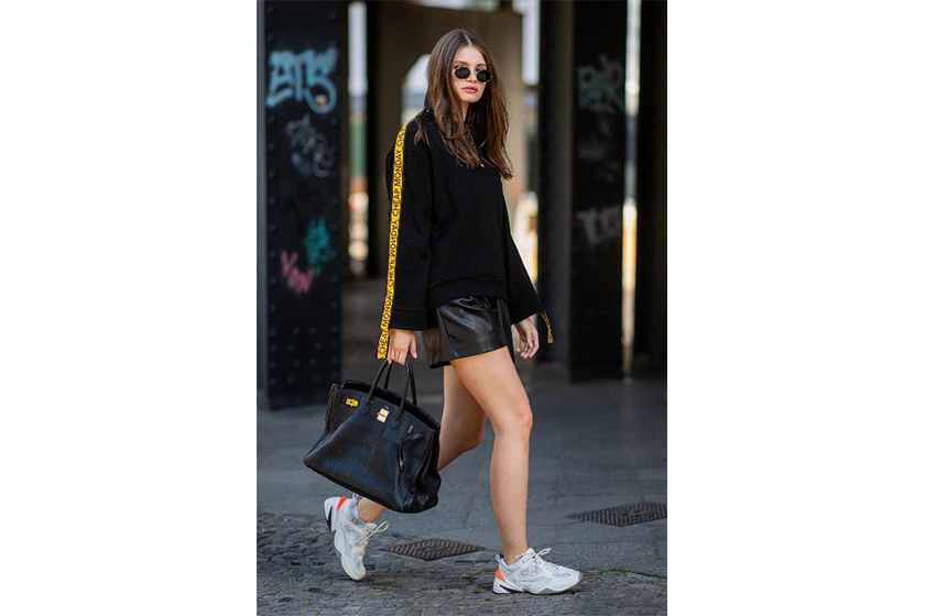 Hermès Birkin Street Style