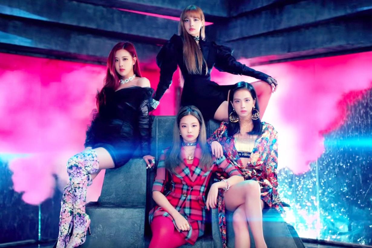 Blackpink YG Entertainment CEO Yang Hyun Suk  Universal Music Group Chairman Lucian Grainge Interscope Records Chairman John Janick come back 2019 k pop korean idols korean singers korean celebrities