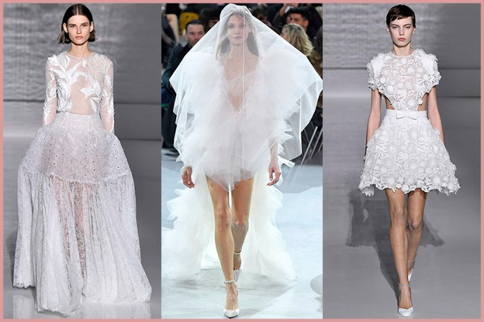 #SS19 Couture:最美的盡在這裡!25 條高級訂製婚紗,全是女生的夢想!