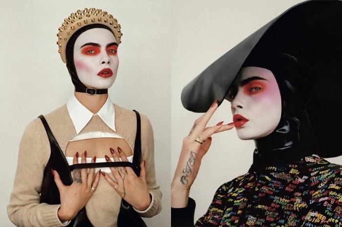 從不認為我是美麗的:Cara Delevingne 以「美猴王」登封面,展現她的鬼馬式優雅!