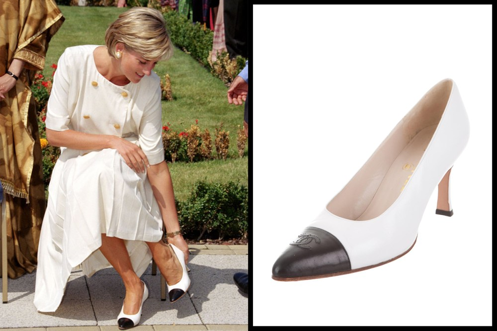 Chanel CC Pumps Princess Diana