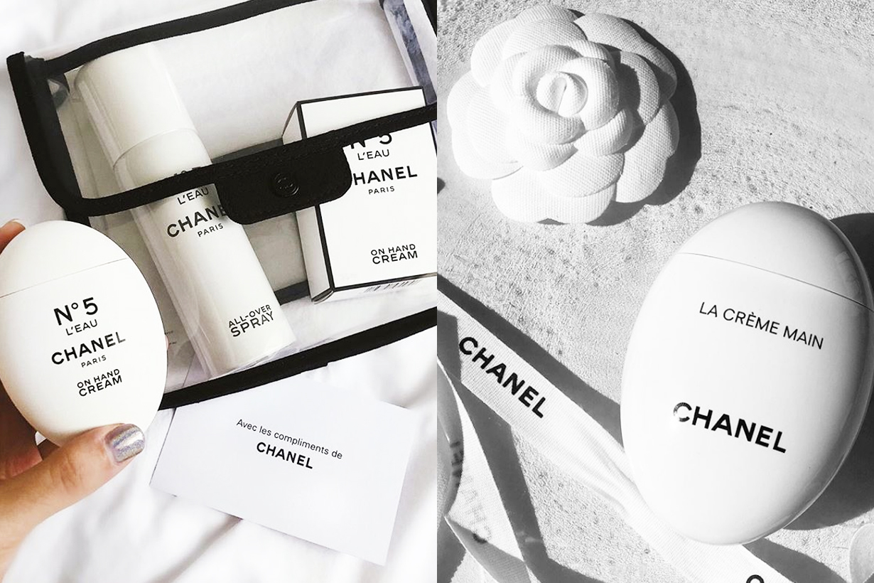 Chanel Hand cream LA CRÈME MAIN SMOOTH-SOFTEN-BRIGHTEN Skincare tips xiao hong shu