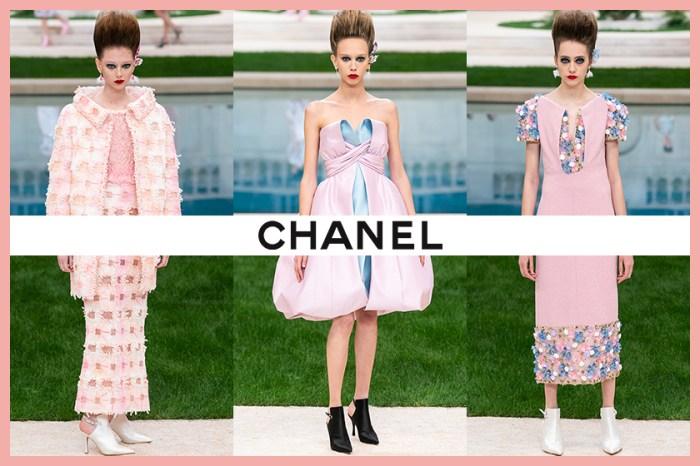#SS19 Couture:Chanel 帶你到地中海花園,來一場尋花之旅!