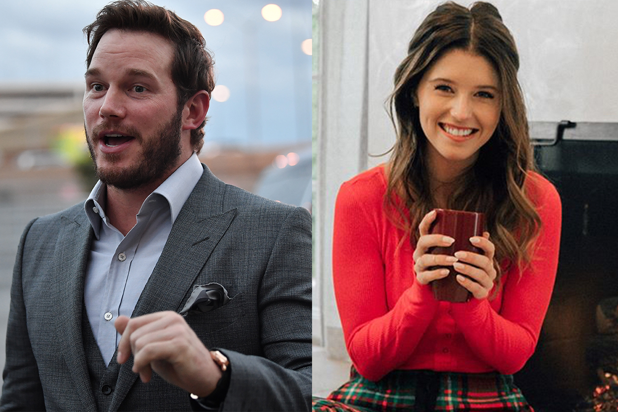 Chris Pratt Katherine Schwarzenegger moving together, near Anna Faris