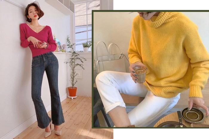 馬上買件彩色針織衫!日韓「彩毛衣控」女生的穿搭日常