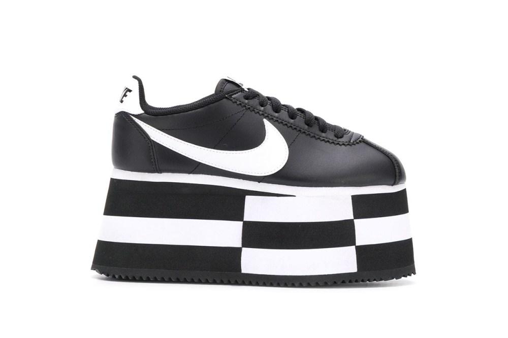 Comme des Garcons x Nike Platform Sneakers